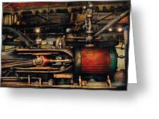 Steampunk - No 8431 Greeting Card