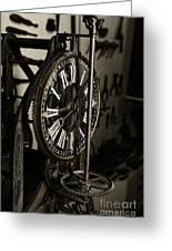 Steampunk - Timekeeper Greeting Card