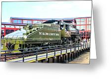Steamtown Engine 26 Greeting Card