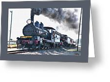 Steamtrain To Carltoncreekhurst L B Greeting Card