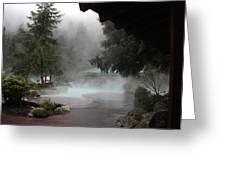 Steamy Splendor 02 Greeting Card