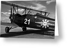 Stearman Biplane Greeting Card