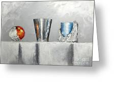 Steel Cup Greeting Card