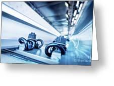Steel Mechanic Hardware Greeting Card