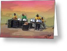 Steel Pan Players Antigua Greeting Card