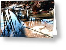 Steel River Greeting Card