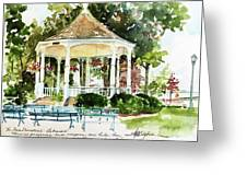 Steele Memorial Bandstand Greeting Card