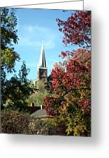 Steeple At Harprs Ferry Greeting Card