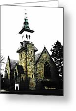 Steeple Chase 2 Greeting Card