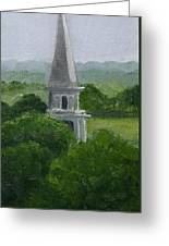Steeple  Greeting Card