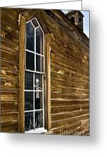 Steeple Window Wall Greeting Card