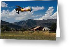 Steerman Bi-plane Greeting Card