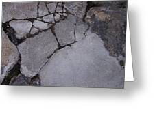 Step On A Crack 3 Greeting Card by Anna Villarreal Garbis
