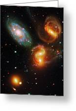 Stephan's Quintet Greeting Card