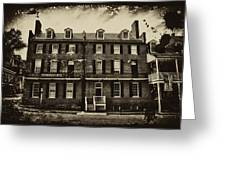 Stephenson's Hotel - Harpers Ferry Greeting Card