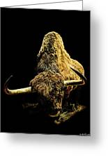 Steppe Bison Greeting Card