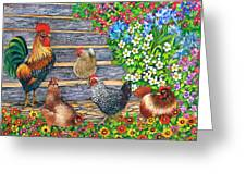 Stepping Out Greeting Card