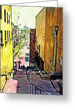 Steps At 187 Street Greeting Card
