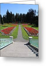 Steps To Duncan Garden Greeting Card