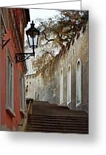 Steps To Saint Vitus Greeting Card