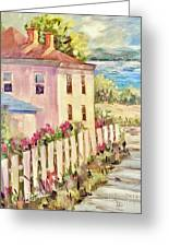 Steps To The Hudson Greeting Card