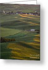 Steptoe Butte 16a Greeting Card