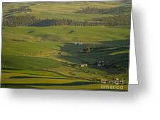 Steptoe Butte 3a Greeting Card