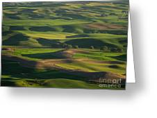 Steptoe Butte 4 Greeting Card