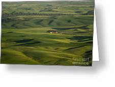 Steptoe Butte 5 Greeting Card