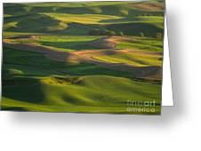 Steptoe Butte Greeting Card