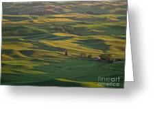 Steptoe Butte 9 Greeting Card