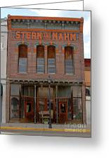 Stern And Nahm 1879 Greeting Card