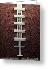 Steroid Use In Football Greeting Card