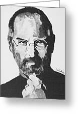 Steve Jobs Greeting Card