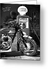 Steve Mcqueen Isdt 64 Greeting Card