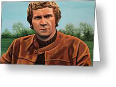 Steve Mcqueen Painting Greeting Card