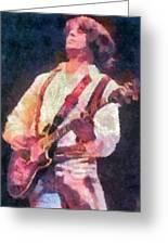 Steve Miller 1978 Greeting Card by Russ Harris