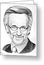 Steven Spielberg Greeting Card