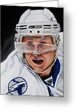 Steven Stamkos Greeting Card by Marlon Huynh