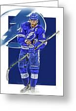 Steven Stamkos Tampa Bay Lightning Oil Art Series 2 Greeting Card