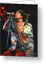 Steven Tyler 01 Greeting Card