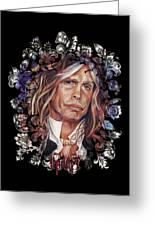 Steven Tyler Aerosmith Greeting Card