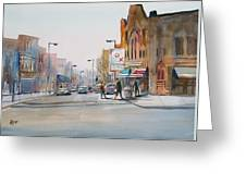 Steven's Point - Downtown Greeting Card