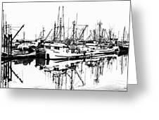 Steveston Harbor Greeting Card
