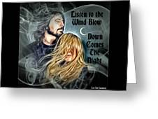Stevie Nicks - Dave Grohl Greeting Card