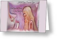 Stevie Nicks - Gypsy Greeting Card
