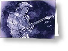 Stevie Ray Vaughan - 02 Greeting Card