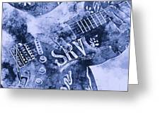 Stevie Ray Vaughan - 04 Greeting Card