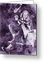 Stevie Ray Vaughan - 05 Greeting Card