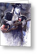 Stevie Ray Vaughan 1 Greeting Card